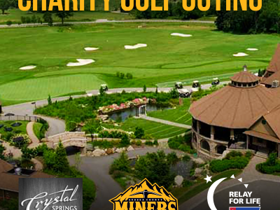 Miners Charity Golf Outing Promo