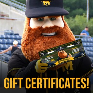 Miners Gift Certificates