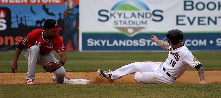Carl Thomore Slides into Second