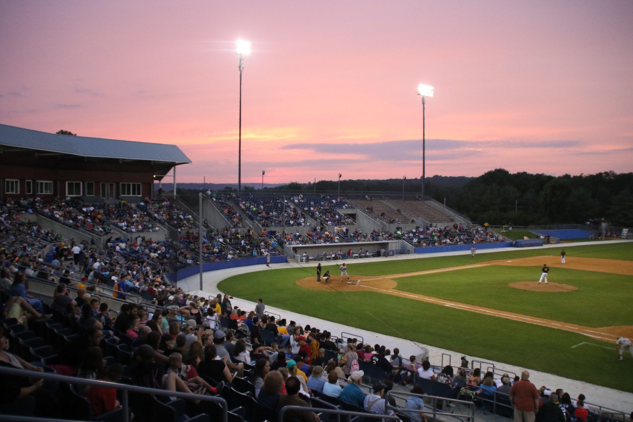 Twilight at Skylands Stadium