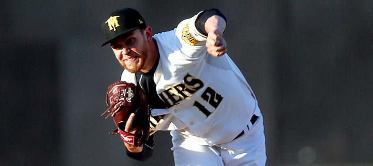 Miners Pitcher David Rollins Earns Pitcher of the Week Honors