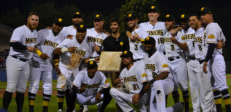 Miners Set Can-Am League Stolen Base Record