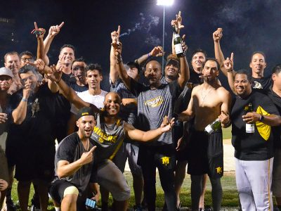 Miners Celebrate Regular Season Championship