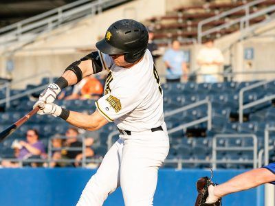Jayce Ray Earns Batter of the Month Honors