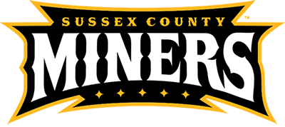 sussex county miners wordmark
